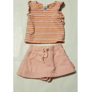 Old Navy skort and tank top